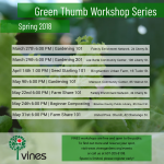 VINES Gardening Workshops