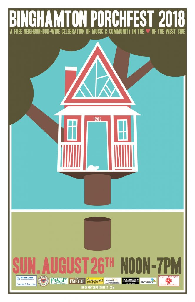 Porchfest 2018 Poster