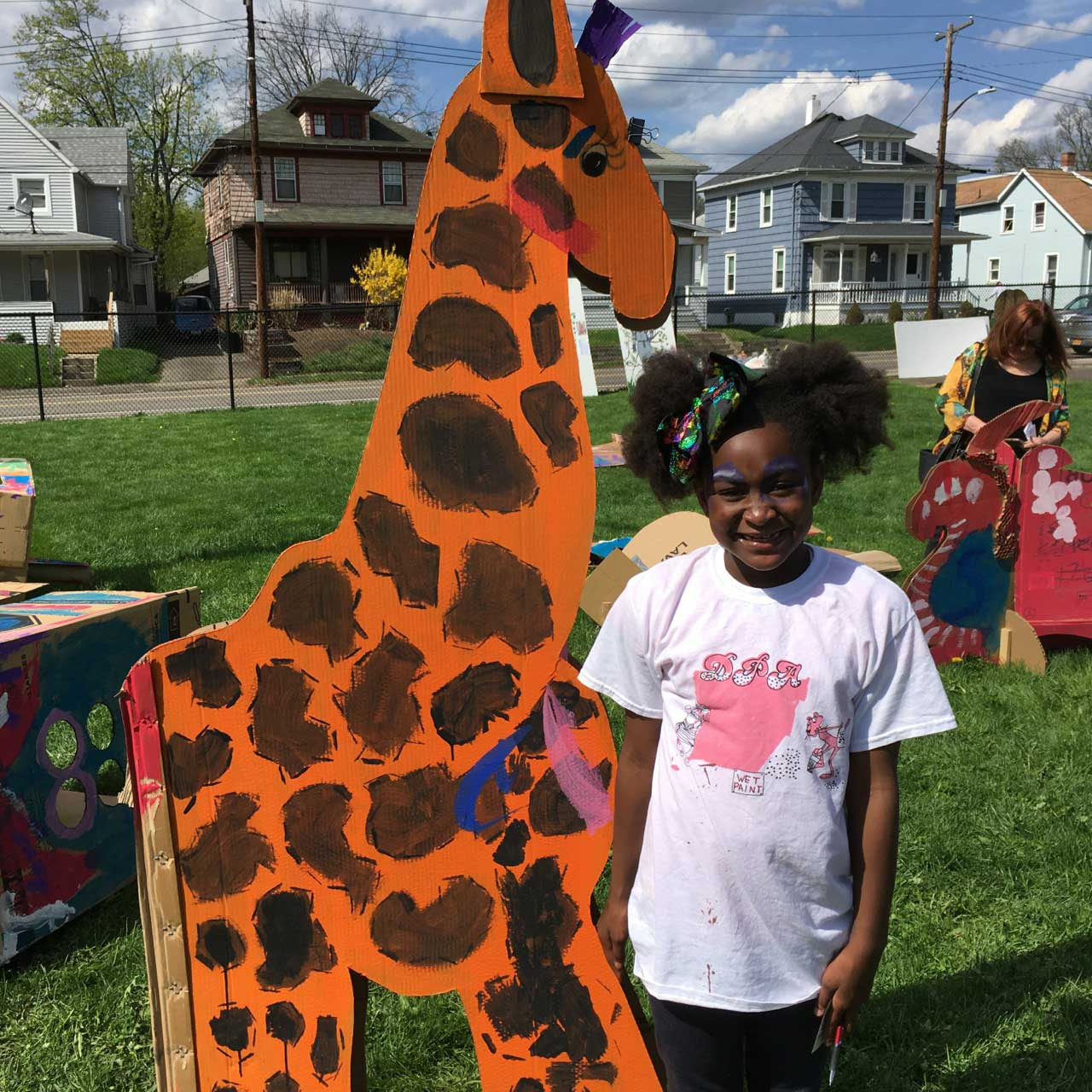Bridge giraffe, Muralfest