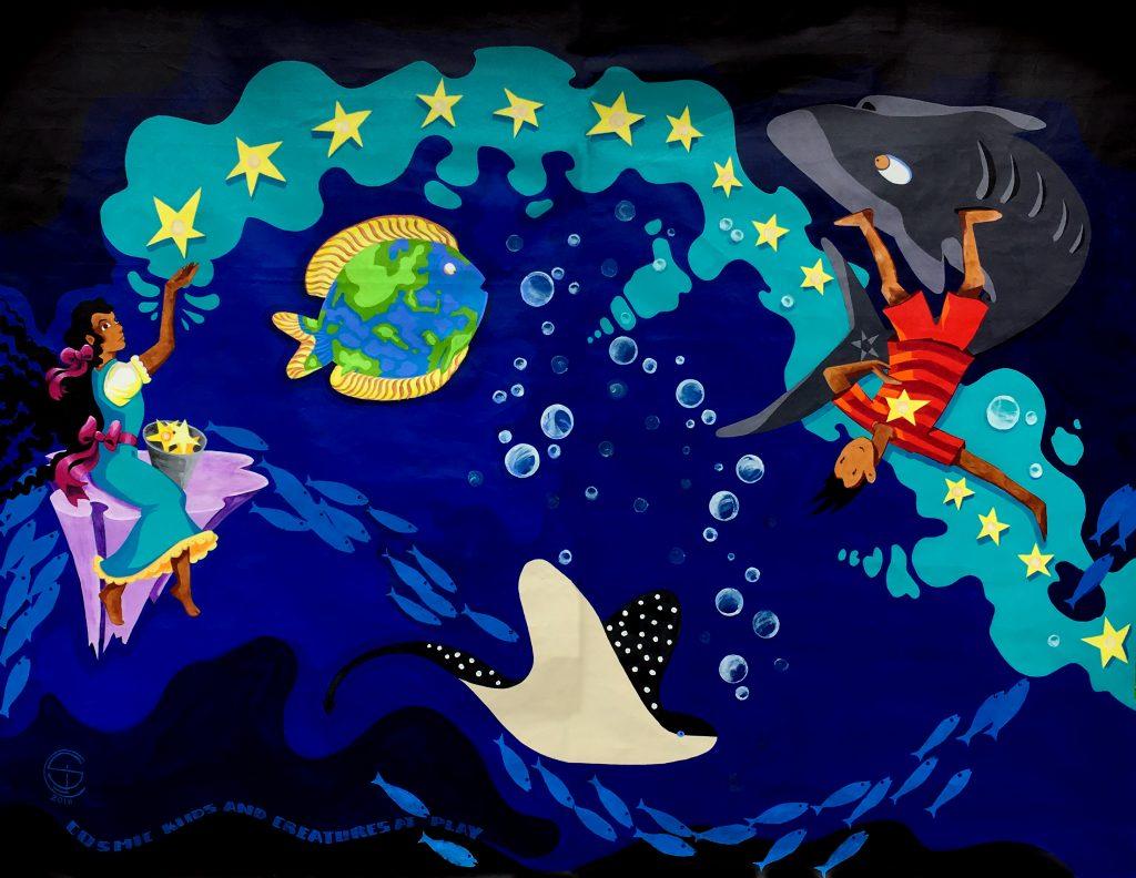StarGirl SharkBoy Cosmic Creatures