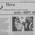 Feminist History in the Binghamton area