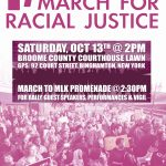 March for Racial Justice Oct. 13